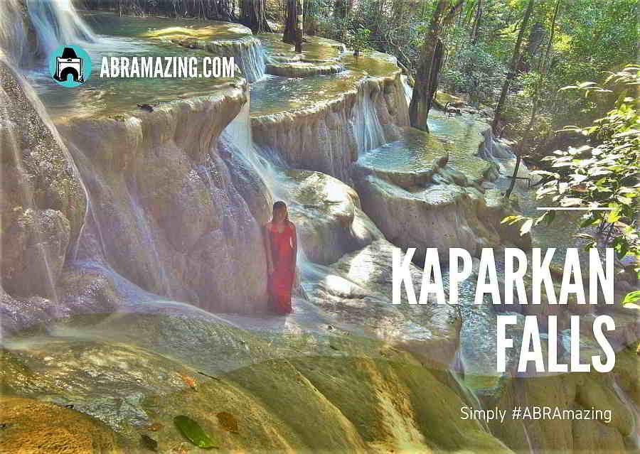 Kaparkan Falls, Caganayan, Tineg, Abra , Philippines
