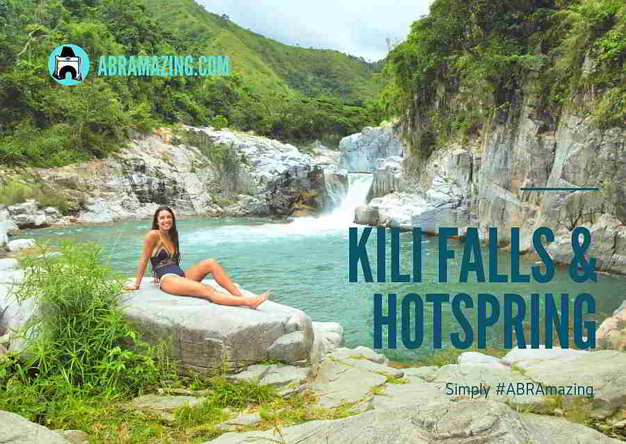 Kili Falls and Hotspring, Tubo, Abra, Philippines