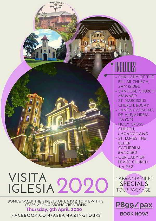Visita Iglesia Abra 2020 Poster