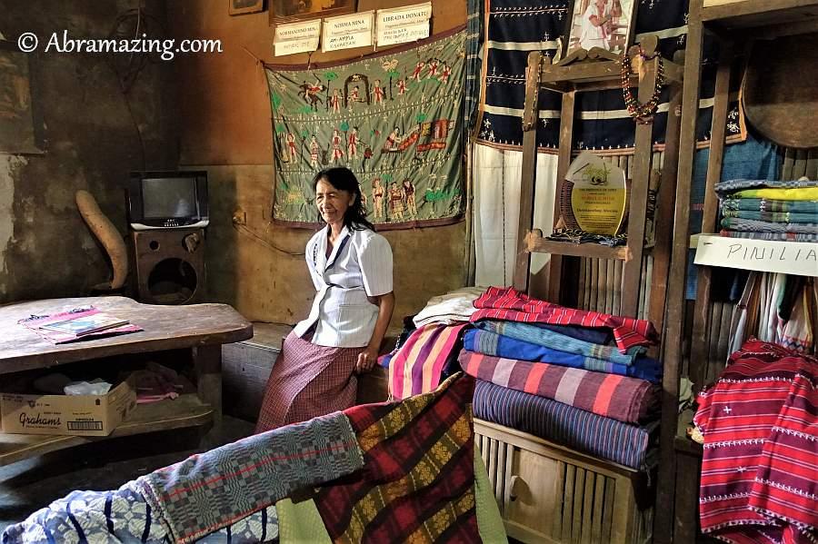 Norma Agaid Tingguian Weaver and natural dye maker