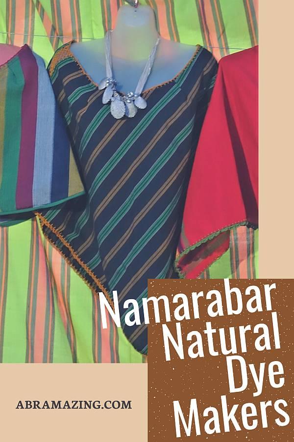 namarabar natural dye makers of abra. abra in colours