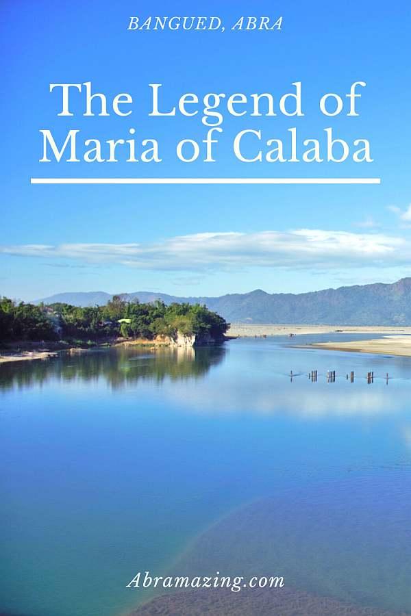 The Legend of Maria of Calaba Rock, Abra, Philippines