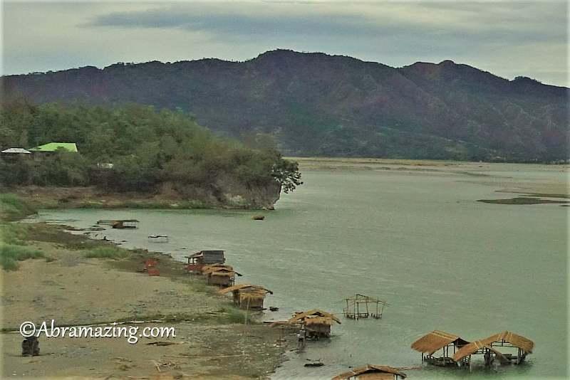 The Rock seen from Calaba Bridge, Bangued.